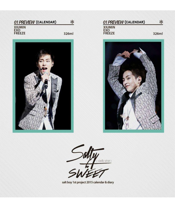 SALTY-TO-SWEET 2015 CALENDAR & DIARY